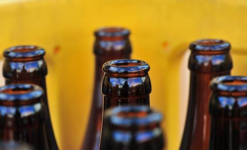 ビール瓶!