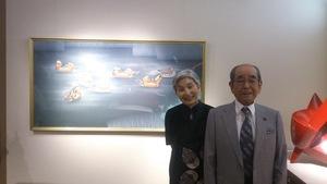伊藤裕司氏ご夫妻と再開された作品
